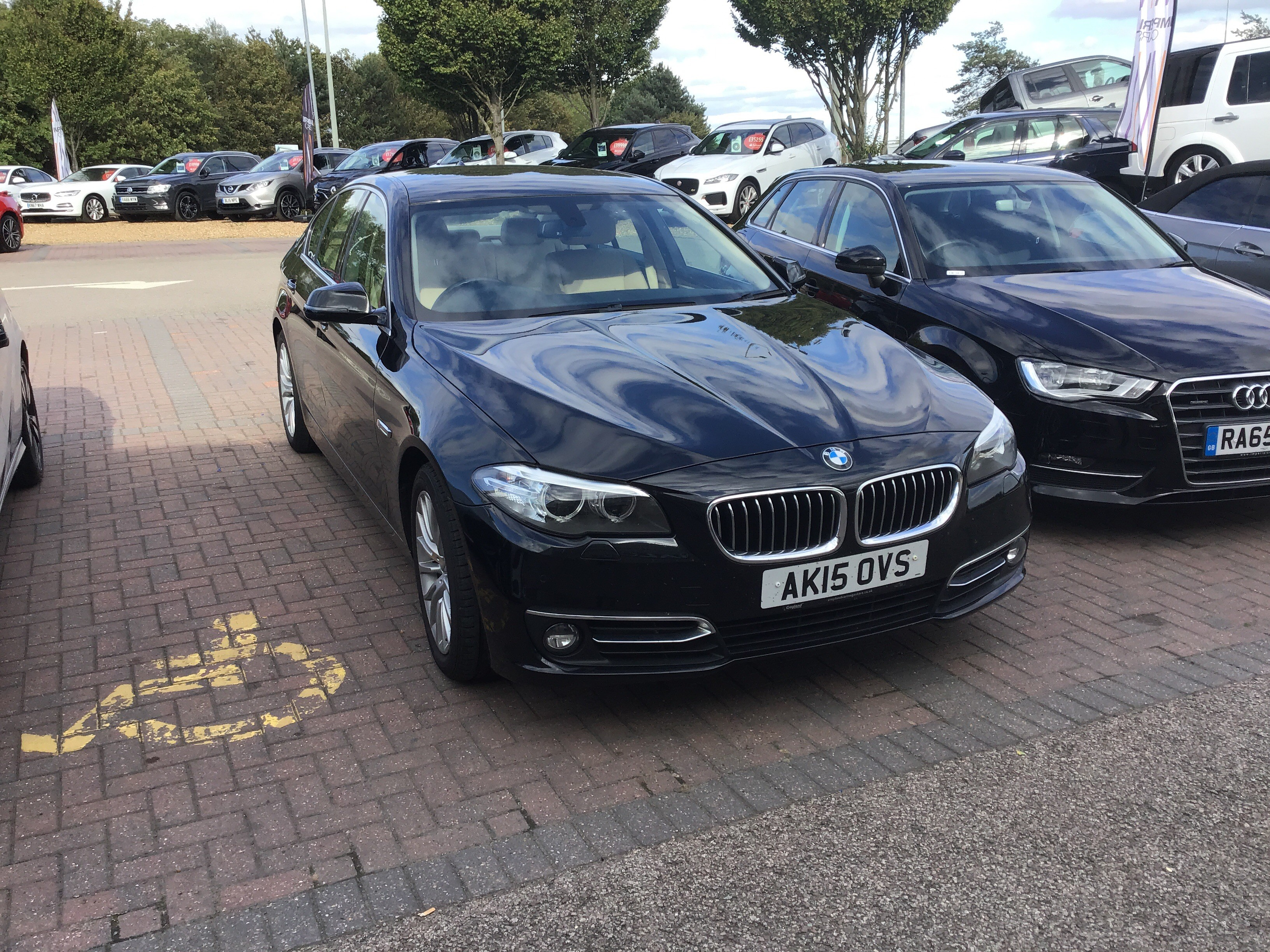 BMW 5 Series 520d [190] Luxury 4dr Step Auto Exterior 1
