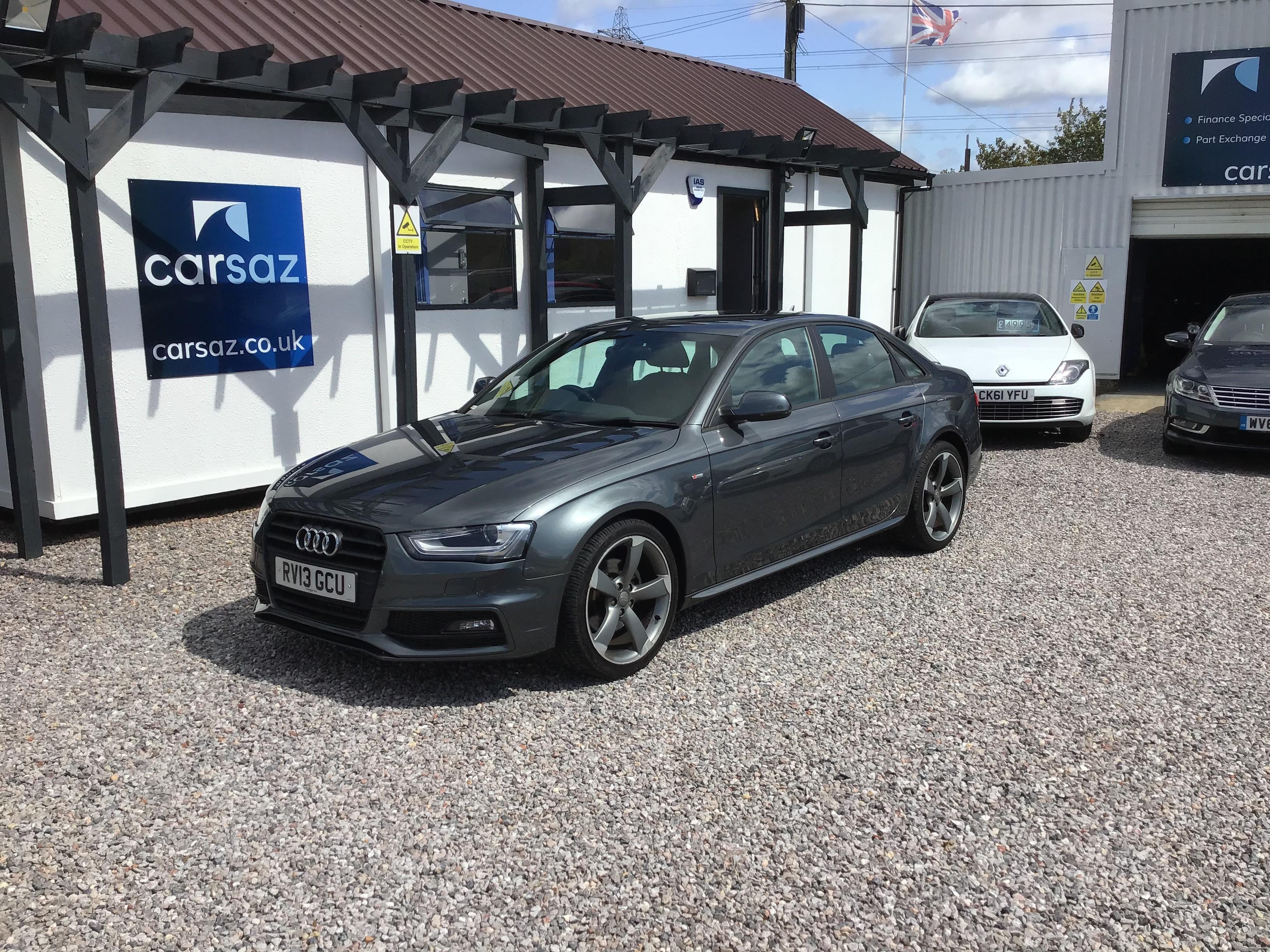 Audi A4 2.0 TDI 143 Black Edition 4dr Multitronic Exterior 1