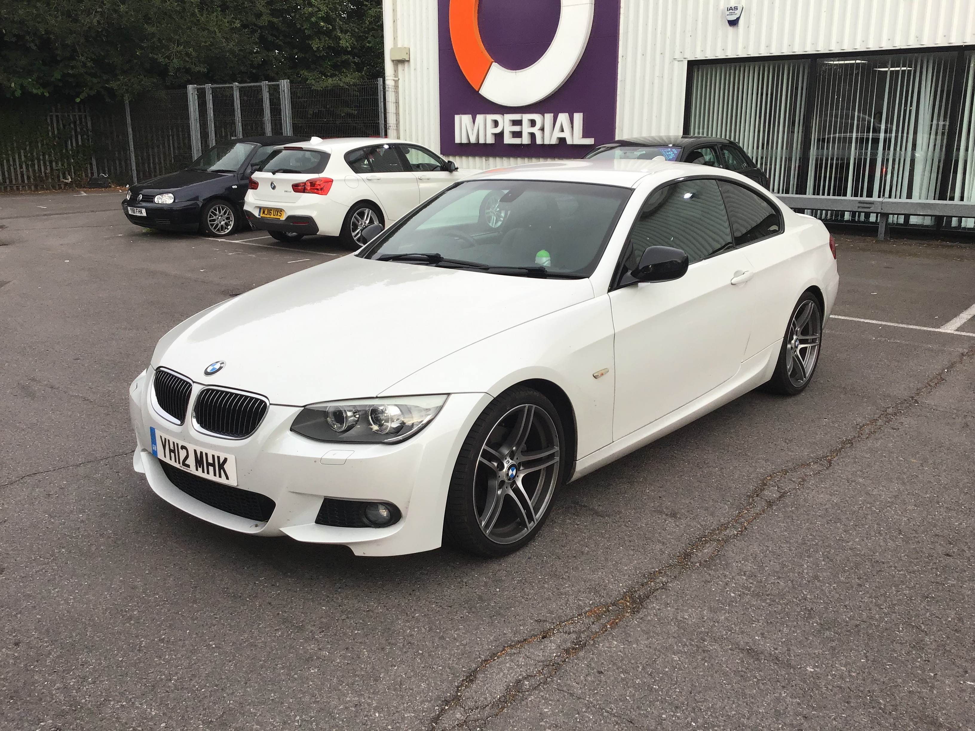 BMW 3 Series 320d Sport Plus 2dr Exterior 1