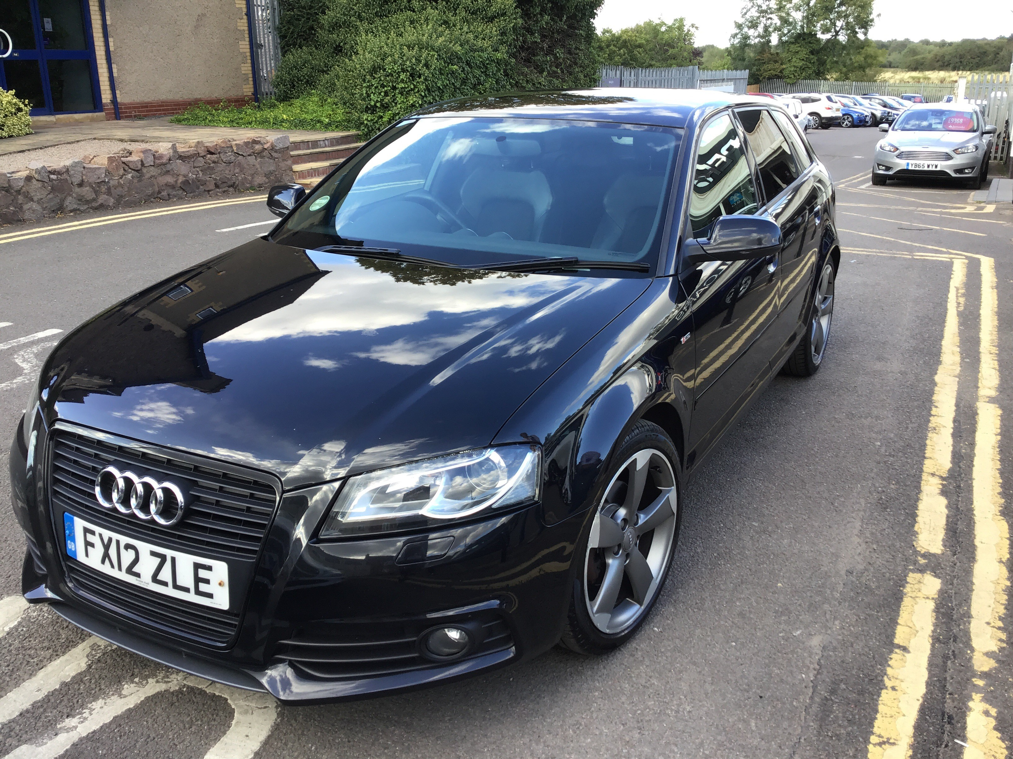 Audi A3 2.0 TDI Black Edition 5dr [Start Stop] Exterior 1