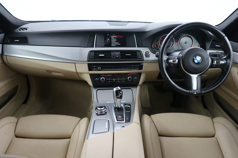 BMW 5 Series 520d [190] M Sport 4dr Step Auto Interior 1