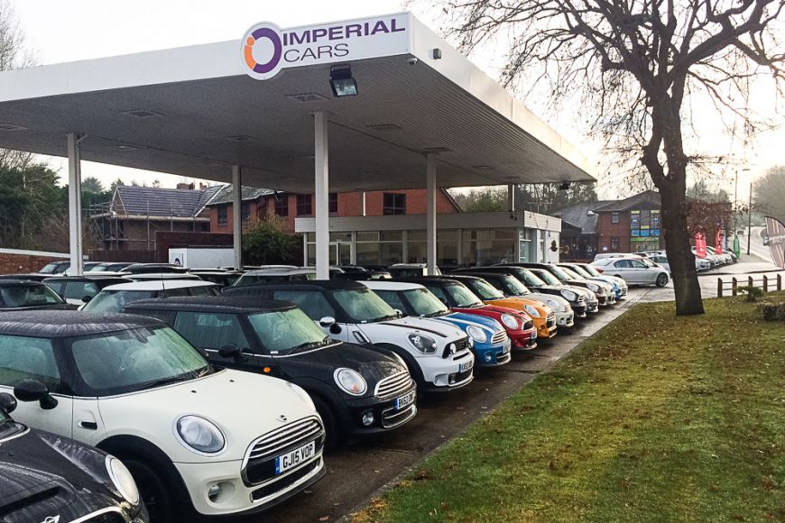 Used Minis For Sale At Imperial Cars Swanwick